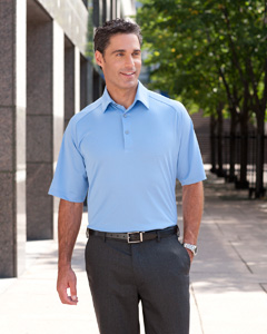 Ashworth Golf 1270C Men's Performance Wicking Piqué Polo
