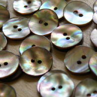 Face of Top Star shell buttons
