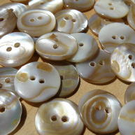 Face of Washibodo shell buttons