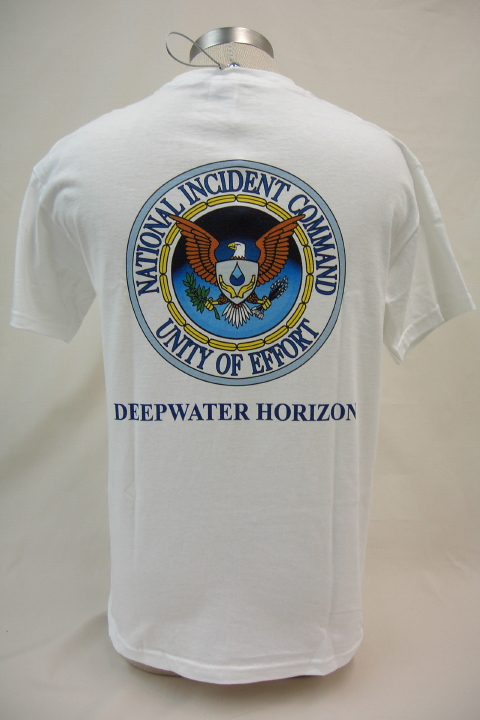 National Incident Command - Deepwater Horizon T-Shirt