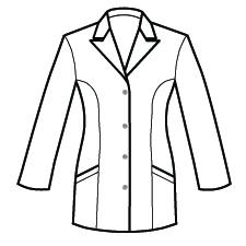 Custom Embroidered WonderWink Men's Wonderlab Long Lab Coat – Texas Scrubs  and Embroidery