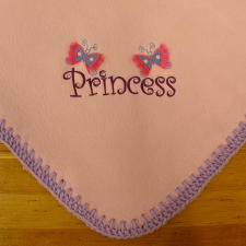 Personalized Baby Blankets, Custom Embroidered Baby Blankets