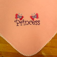 3550223d76 Personalized Embroidered Custom Designed Baby Blankets