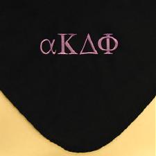 Greek Fleece Blanket; Design Your Own Custom Greek Fleece Blankets