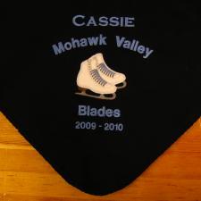 Custom Fleece Blankets, Embroidered Fleece Blankets, Personalized Fleece  Blankets