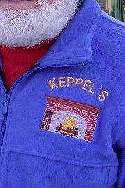 Personalized, Custom Embroidered Fleece Jacket