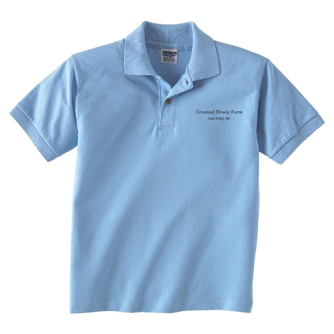 Custom polo shirt giveaway 2 mohawk valley trading for Personalised logo polo shirts