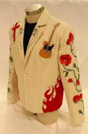 Men's Custom Embroidered Jacket