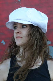 Custom Made Newsboy-70's Poof  Hat
