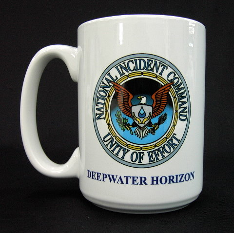 National Incident Command Deepwater Horizon Mug