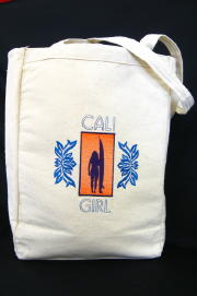 Personalized, Custom Embroidered Tote Bag